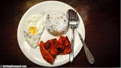 Tosilog Breakfast