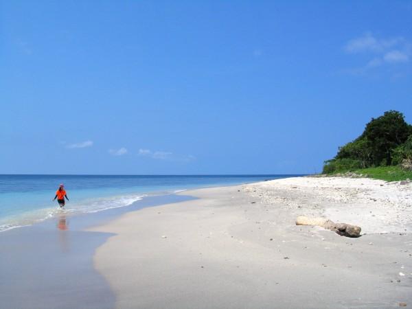 Beach in Babuyan Group of Islands