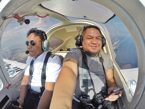 Flying with Captain Julius Bustamante