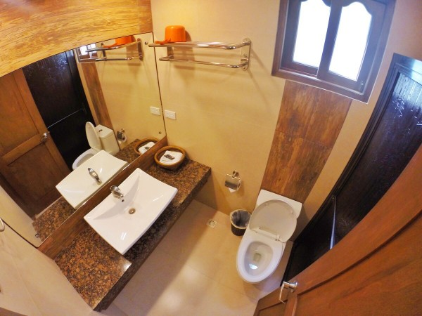 Spacious Bathroom at the new building