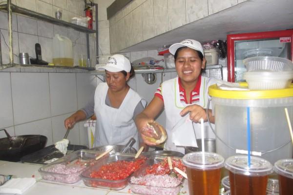 Street Food in Bolivia
