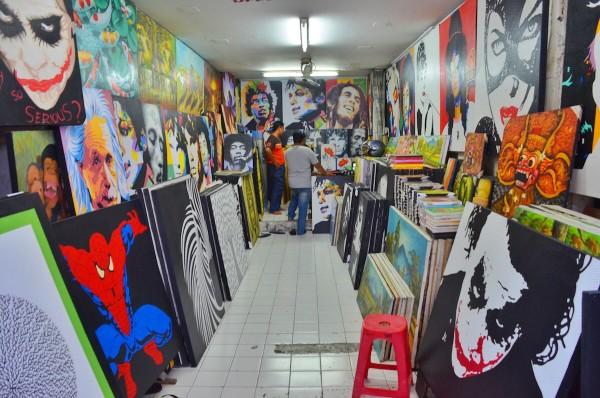 Artworks for Sale in Kuta - Shopping in Bali