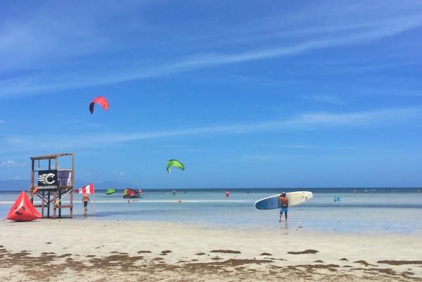 Beautiful Kitesurfing Spot in Palawan