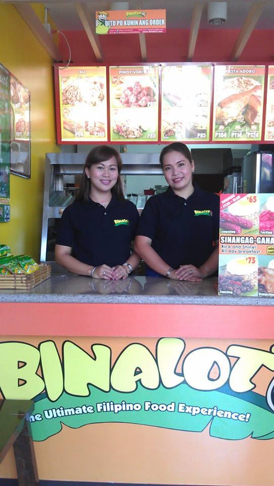 Binalot Cashiers