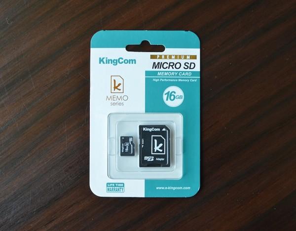 KingCom Micro SD 16GB