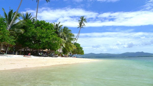 Lunch in Dibuluan Island in El Nido Palawan