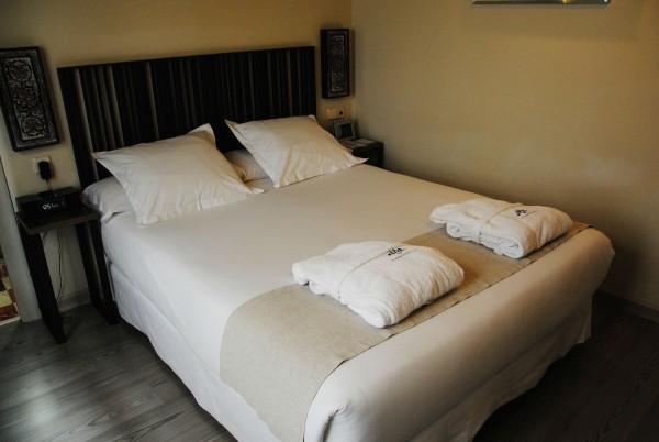 Our Bed at Casas de Santa Cruz Boutique Hotel in Seville