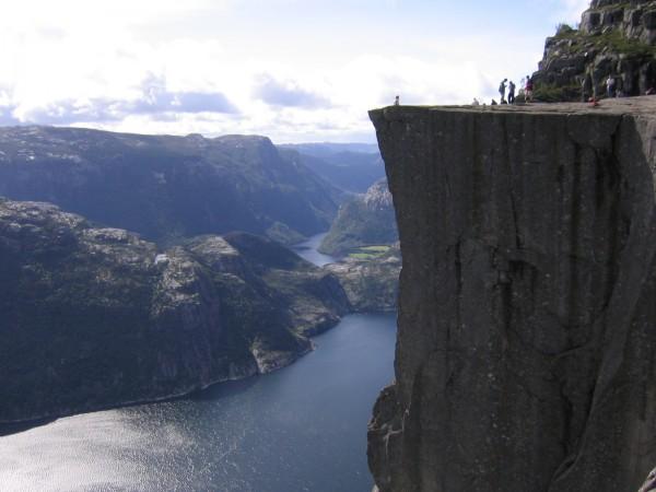 Preikestolen in Norway