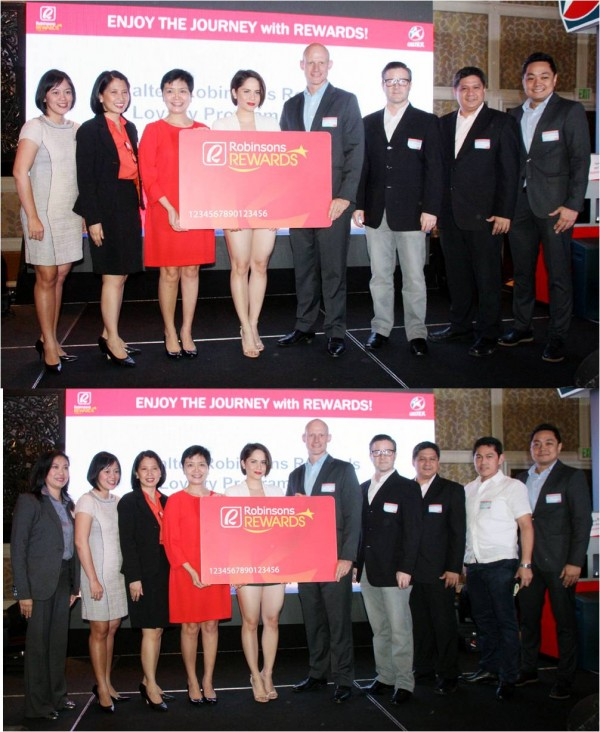 Robinsons Retail and Chevron teams with Robinsons Rewards brand ambassador Jessy Mendiola (Photo courtes of PNA's Ben Briones)