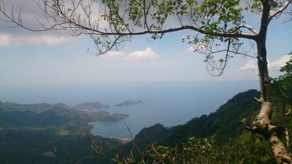 View from Pico de Loro