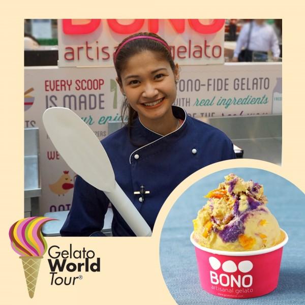 Zarah Manikan of Bono Artisan Gelato Philippines