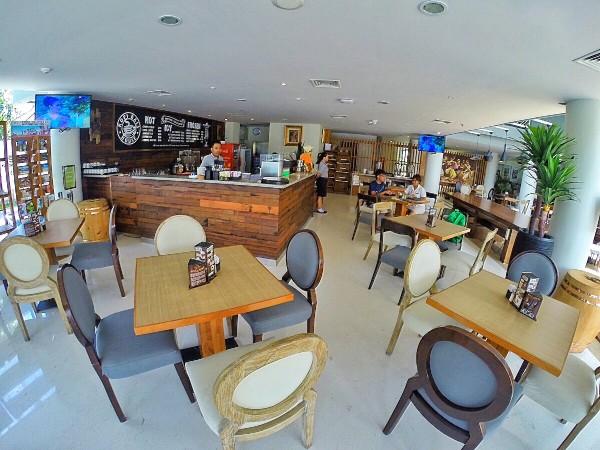 Kopi Bali House at the lobby of Primebiz Hotel