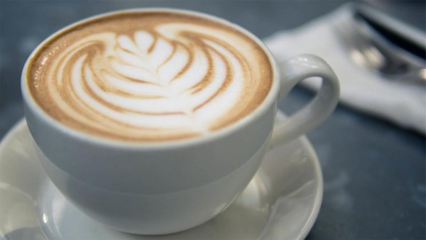 Latte Art in a Cup