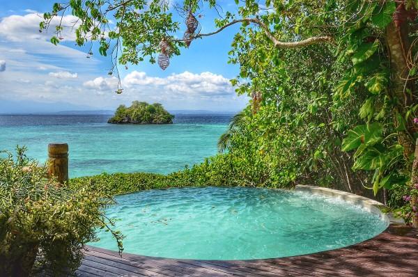 Private Pool at Malipano Island Villa