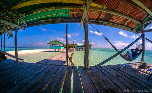 Relaxing in Onuk Island photo by Nelo Marasigan-Manzo