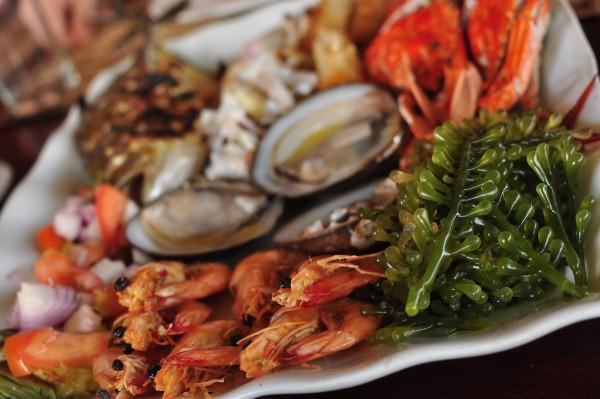 Seafood Platter at Badjao Restaurant