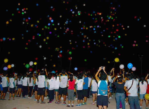 Sillag Festival of Lights in Poro Point La Union