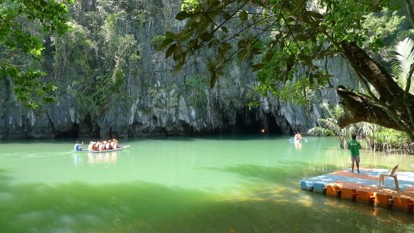 Underground River in Puerto Princesa Palawan