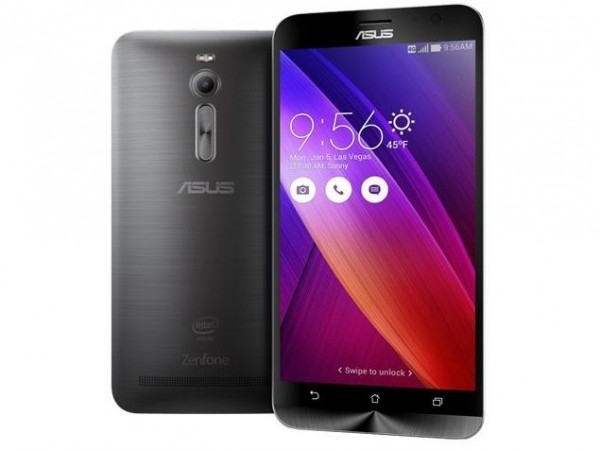 ASUS ZenFone 2 Front and Back