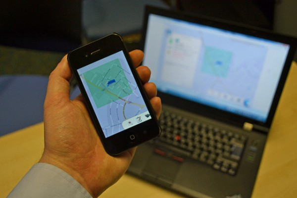 GPS Tracker by Surrey County Council via Flickr
