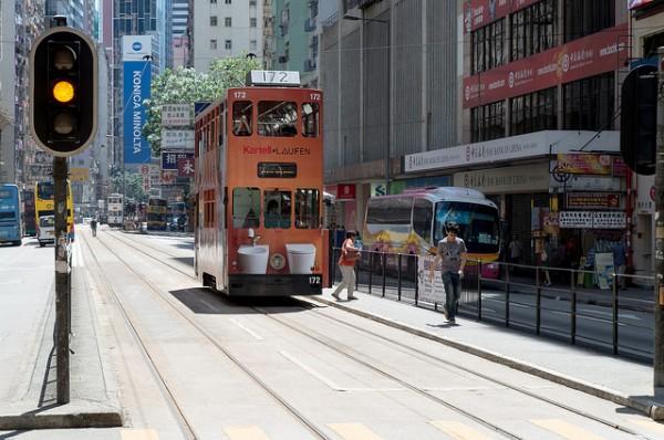 Hong Kong Tram by Himbeerdoni via Flickr
