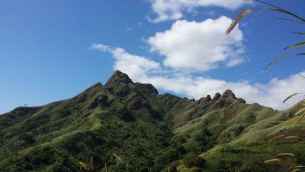 Mt. Batulao in Nasugbu, Batangas
