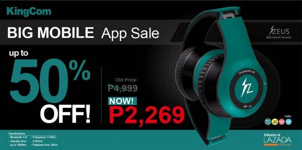 ZEUS Bluetooth Headset Lazada Sale