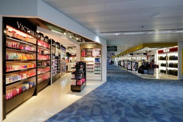 NAIA T1 Departure Area Duty Free Shops