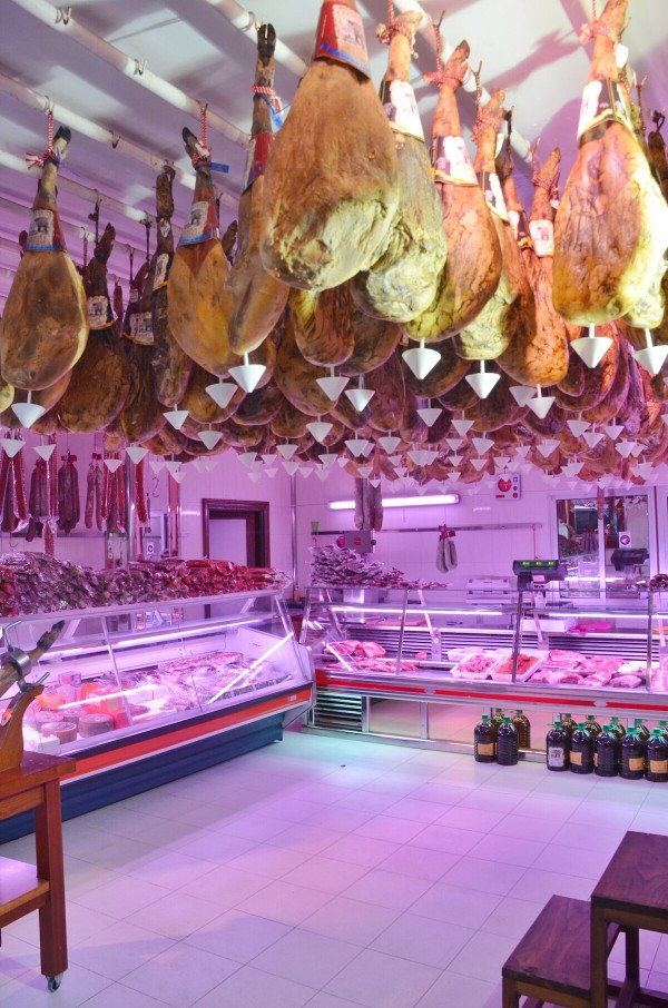Shops selling Iberico Ham