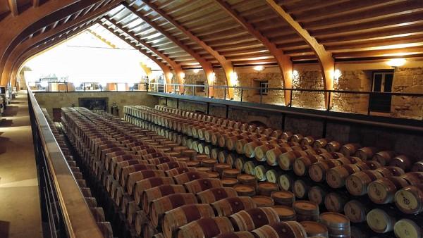 Wine Barrels inside Hacienda Zorita