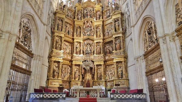 Altar of Capilla de San Nicolas