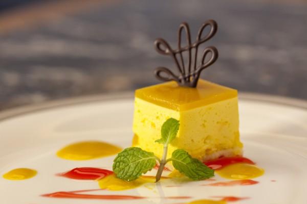 Delectable dessert