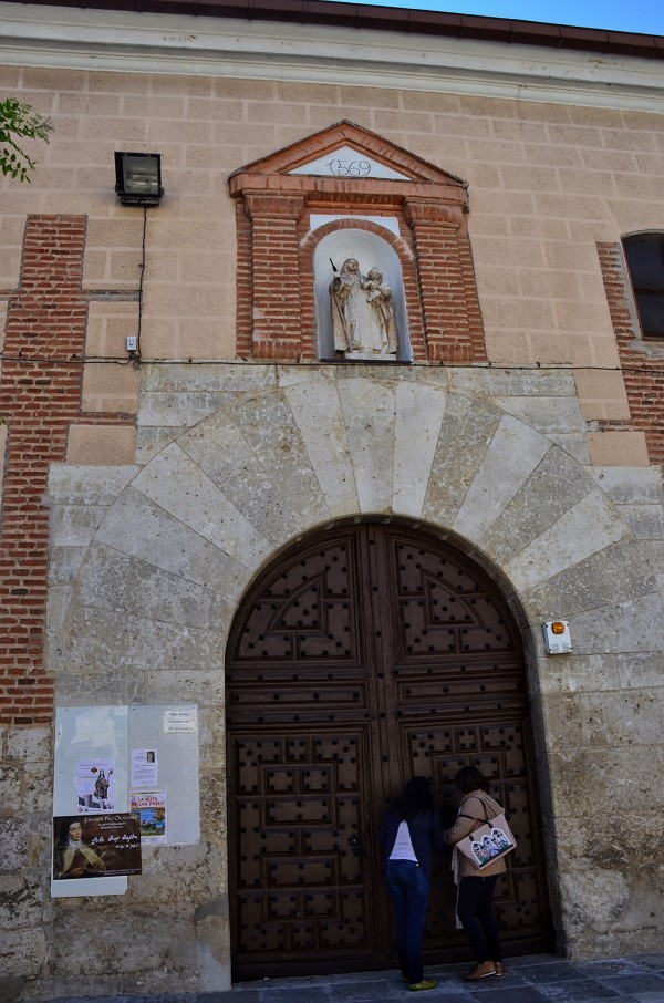 Entrance of the Convent