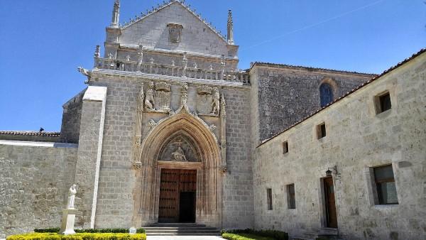 Facade of Cartuja de Miraflores Chapel