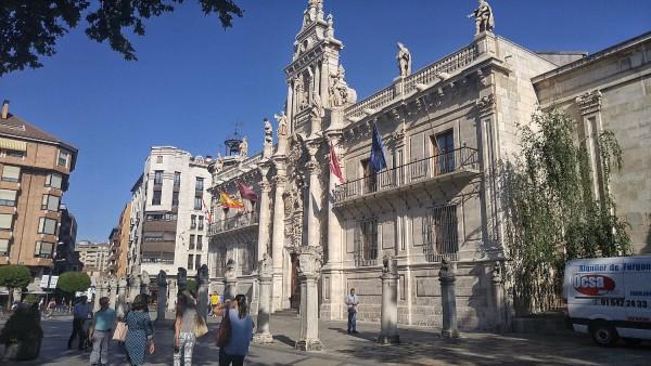 Facade of University of Valladolid