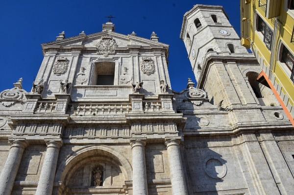 Facade of Valladolid Cathedral