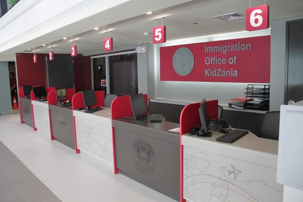 Immigration Office of Kidzania Manila
