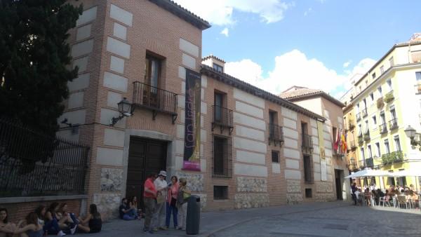 Outside Museo de San Isidro