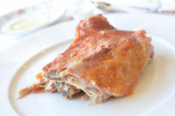 Roasted Lamb - Corcedo Lechal Asado con Ensalada