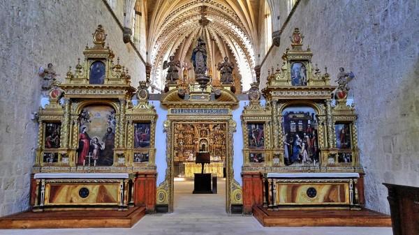 View from Cartuja de Miraflores Chapel Entrance