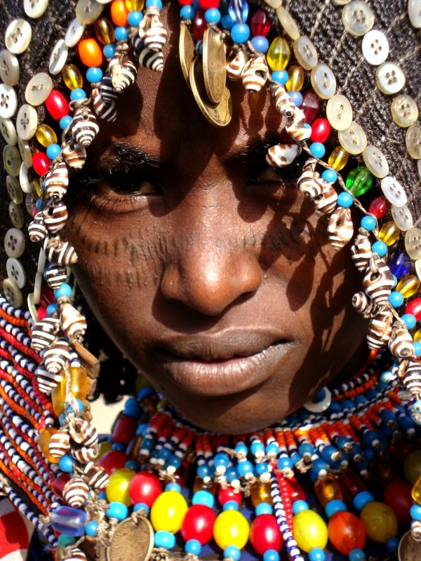 Wedding Dress of an African Afar Tribe