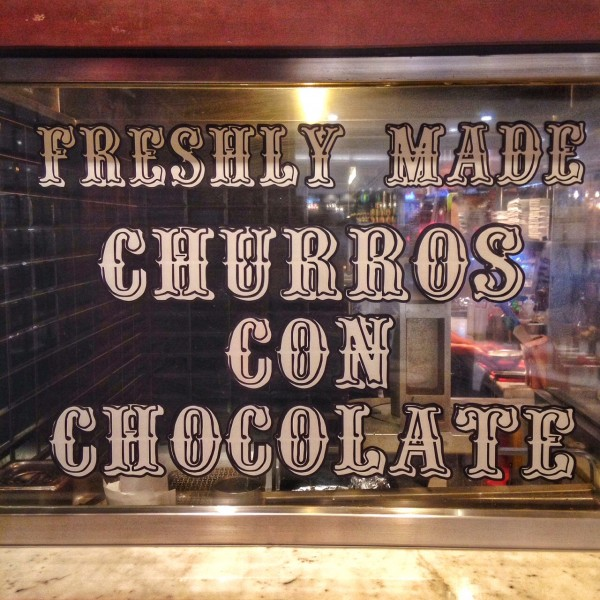 Freshly Made Churros