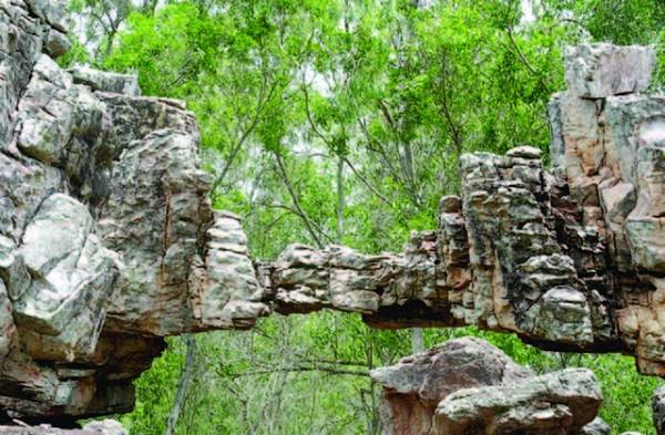 Natural Arch in Tirumala, Andhra Pradesh, India
