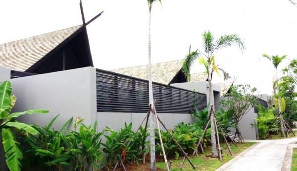 Photo of the Anantara Vacation Club neighborhood (taken by Pau)