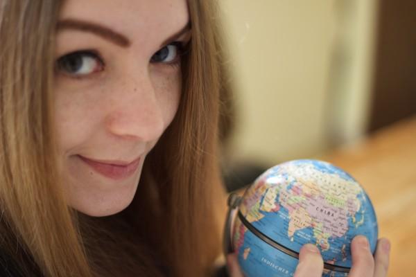 Sarah travels the World