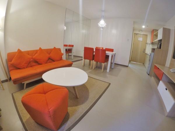 Sofa Area and Dining Area