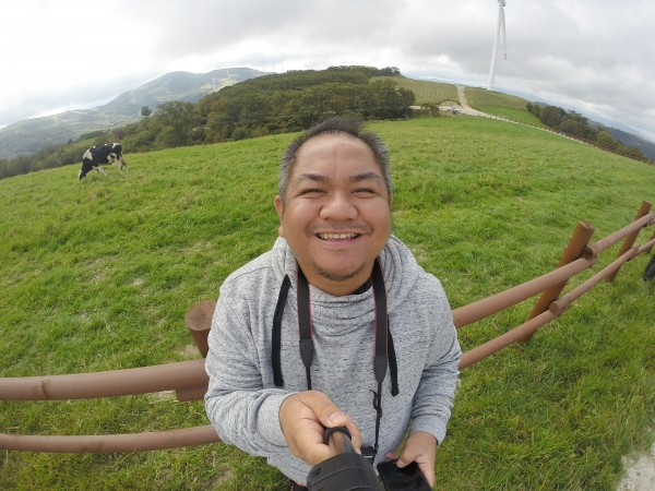 Selfie at EcoGreen Campus in Gangwon Province
