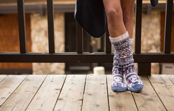 Slipper Socks by Stitch Mountain