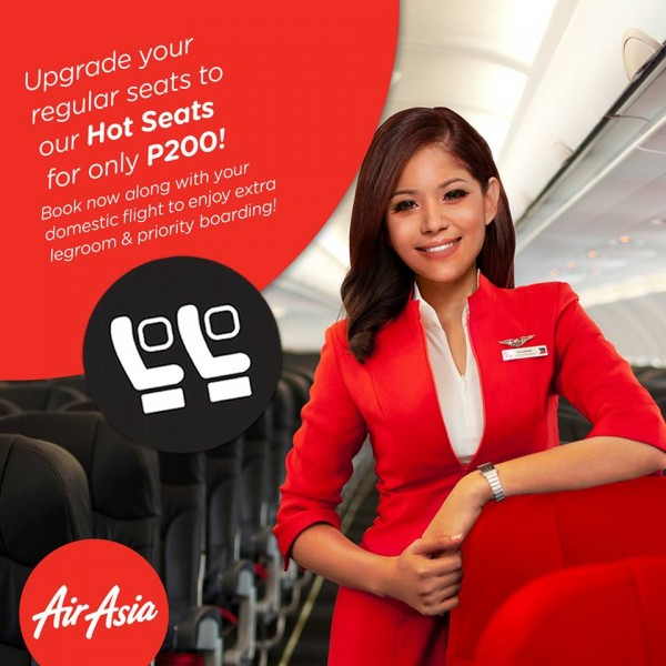 AirAsia Hot Seat Promo