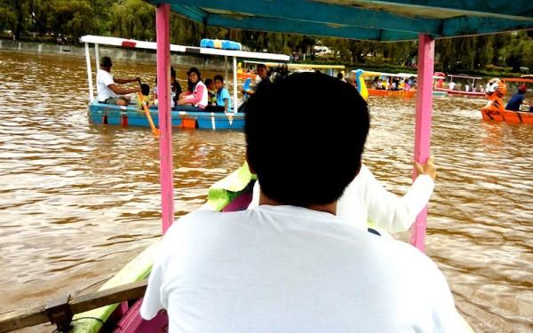 Boating at Burnham Park